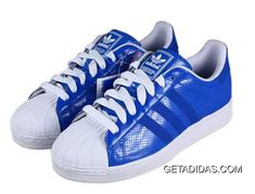 sports shoes 94519 3849c Womens Superior Materials Shoes Blue White Adidas Superstar II Easy Travelling  Big Personalized TopDeals, Price   75.06 - Adidas Shoes,Adidas  Nmd,Superstar, ...