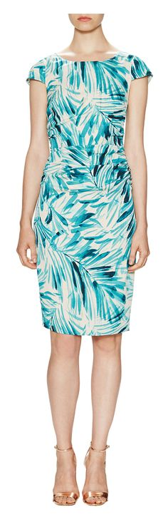 Tracy Reese Graphic Silk Fly Back Sheath Dress - on #sale 57% off @ #Gilt  #TracyReese