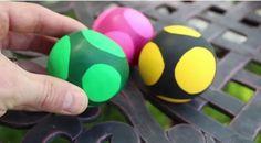 Zelf simpel (stress)ballen maken van ballonnen