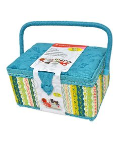 Turquoise Sewing Kit by SINGER #zulily #zulilyfinds