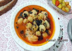 Bulgur Köfteli Tavuk Çorbası