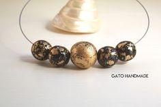 GATO Handmade: Noua colectie de coliere Flakes by Gato Handmade