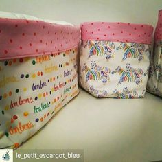 Storage boxes made in fabric designed by Polly Dextrous Custom Printed Fabric, Printing On Fabric, Storage Boxes, Design Your Own, Fabric Design, Diaper Bag, Pretty, Blue, Storage Crates