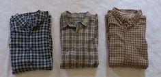 Lot of 3 Woolrich Men's XL Plaid Long Sleeve Button Down Shirts #Woolrich #ButtonDown