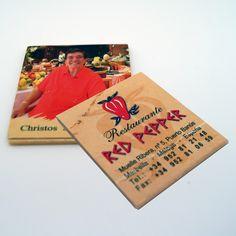"Cajas de cerillas modelo ""Book 1x9"". Trabajo realizado para el restaurante Red Pepper en Puerto Banús. Offset, Cover, Books, Match Boxes, Natural Wood, Advertising, Restaurants, Livros, Libros"
