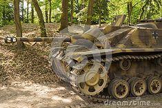 A Sd.Kfz 142 StuG III also known as Sturmgeschutz III. A well known German tank destroyer from World War 2.