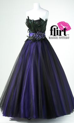 Flirt Strapless A-line Dress FL-P5629