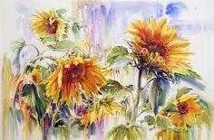 Ruth Baderian....beautiful Sunflowers