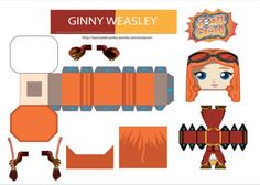 Harry Potter Full, Harry Potter Characters, Harry Potter Memes, Paper Toys, Paper Crafts, Hery Potter, Imprimibles Harry Potter, Harry Potter Printables, Harry Potter Birthday