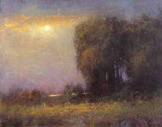 "Saatchi Art Artist Don Bishop; Painting, ""Soft Glow 8.18.15"" #art"