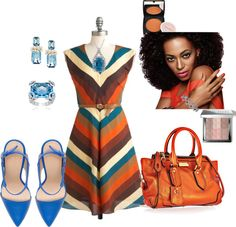 """""""Multicolor Stripes"""" by coromitas on Polyvore"""