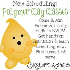 Polymer Clay Classes