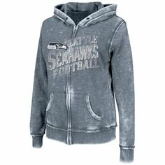 Pro Line Seattle Seahawks Womens Max Static Full Zip Jacket - Gray ...