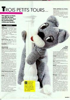 Chat Crochet, Crochet Toys, Marionette, Crochet Animals, Crochet Patterns, About Me Blog, Teddy Bear, Knitting, Alan Dart