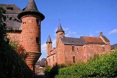 Balade dans la France médiévale...  Collonges-la-Rouge