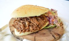 This great tasting recipe adds a spicy twist to pulled pork. - Super Bowl, Fall, Pork, Dinner, American, BBQ, Winter, Canada Day, Summer