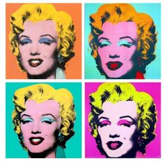 Pop Art Andy Warhol Marilyn Monroe Original