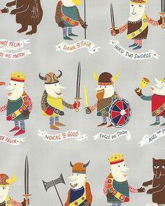 Name the Vikings - Fog Gray