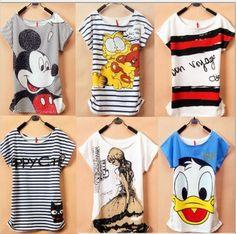 Free shipping 2014 New Topic 1 Dock shirts T Shirt Women tees women type T-shirts Women's Printed T Shirts US $3.99