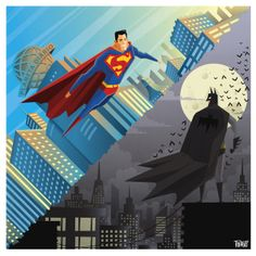 Day vs Night: Batman vs Superman by Thiago Fagundes