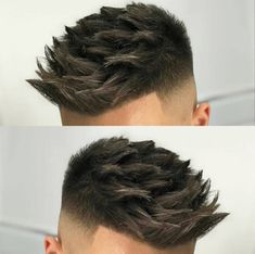 Tattoo ideas for guys top 10 mens cuts 23 Ideas Mens Haircuts Short Hair, Cool Hairstyles For Men, Messy Hairstyles, Hair And Beard Styles, Short Hair Styles, Gents Hair Style, Hair Cutting Techniques, Shaved Hair Designs, Men Hair Color