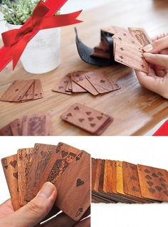 Wooden cards :)