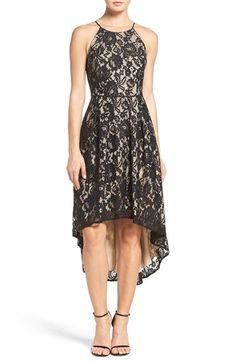Aidan by Aidan Mattox Lace Fit & Flare Dress available at #Nordstrom
