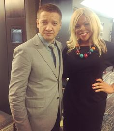 Jeremy Renner and Dr. Liza Egbogah - Toronto International Film Festival Canada Sep 2016