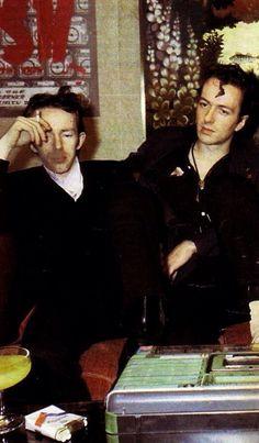 Joe Strummer and Topper Headon