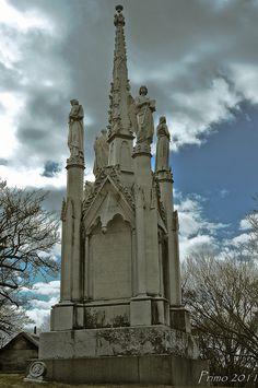 Greenwood Tombstone-Greenwood Cemetery, Brooklyn NY