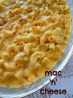Macarrones con queso