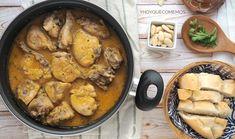 Pollo a la andaluza Hoy vamos a cocinar una receta tradicional de pollo; el pollo a la andaluza tiene distintas formas de cocinarse, os dejo la que siempre he hecho en casa. Es un plato perfecto pa… Spanish Kitchen, Spanish Food, Easy Weekday Meals, Other Recipes, I Foods, Chicken Recipes, Food And Drink, Pork, Yummy Food