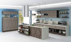 Armário embutido para cozinha pequena