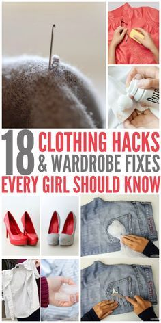 Awesome wardrobe fixes! Now there is hope for clothes I once considered ruined - One Crazy House