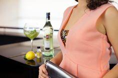 pinko cocktail kleid pink #aperitifmoment #martinitonic #playwithtime