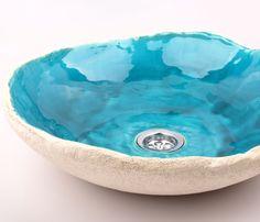 ceramic sink, handmade sink, unusual sink, handmade sink, sink from clay,