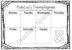 Koala Lou by Pamela Lofts ~ A week of reading activities from Miss Simplicity's… Reading Activities, Teaching Reading, Teaching Ideas, Literacy Year 1, Mem Fox Books, Australian Authors, 1st Grades, Author Studies, Australian Animals
