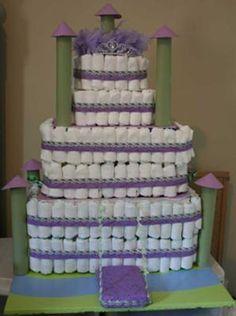 castle diaper cake - Bing Images