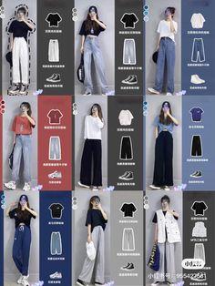 Korean Girl Fashion, Korean Fashion Trends, Korean Street Fashion, Ulzzang Fashion, Asian Fashion, Korea Fashion, Fashion Bloggers, Fashion Tips, Korean Casual Outfits