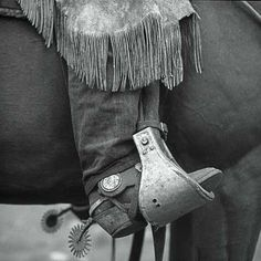 Boot and Spur by Adam Jahiel - (Black & White Photograph) Black & White Photograph - A pigment print of an original black and white photograph. Signed and numbered on border of photograph. Limited edition of Black And White Picture Wall, Black And White Pictures, Black White, Cowboy Photography, Photography Hashtags, Photography Courses, Photography Awards, Iphone Photography, Cowboys
