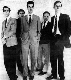 The Lounge Lizards in 1981; left to right: Evan Lurie, Tony Fier, John Lurie, Steve Piccolo, Arto Lindsay