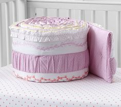 Bailey Ruffle Nursery Bedding | Pottery Barn Kids