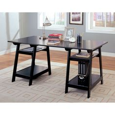 Shop for Trestle Desk. Get free shipping at Overstock.com - Your Online Furniture Outlet Store! Get 5% in rewards with Club O!