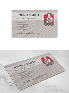 Plaster masonry worker cartoon business card pinterest business plaster masonry worker cartoon business card pinterest business cards flashek Image collections