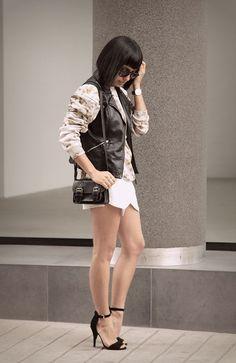 #fashion #skort #outfit #style #ropa #clothing #moda #fashionblogger