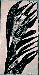 Louise Bourgeois:Untitled, ink on paper