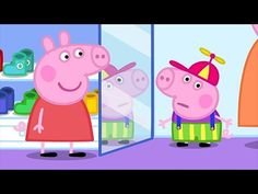 We Love Peppa Pig George's New Clothes Peppa Pig Funny, Peppa Pig Teddy, Magic English, Our Love, New Outfits, Games To Play, Youtube, Projects To Try, Daddy