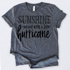 Sunshine With Hurricane Tshirt FD13N