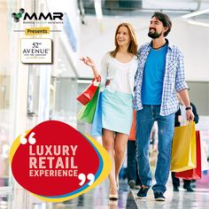 MMR 52nd Avenue in Central Noida - Enjoy The Luxury Retail Experience. For Booking Call - 9015295295. http://www.fiftysecondavenue.com