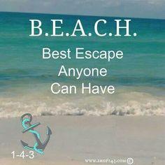 Beach life, coastal living